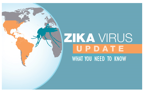 Zika Virus Update Graphic